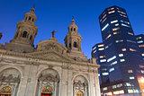 Metropolitan Cathedral in Santiago