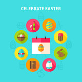 Celebrate Easter Concept