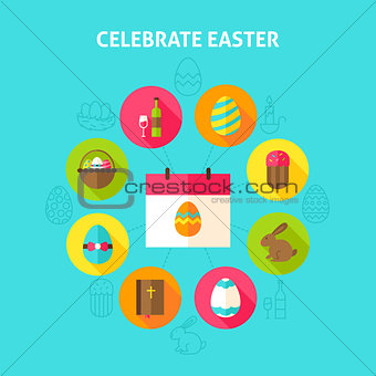Celebrate Easter Concept