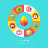 Egg Hunt Concept