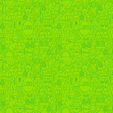Easter Green Seamless Pattern