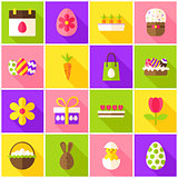 Easter Spring Colorful Icons