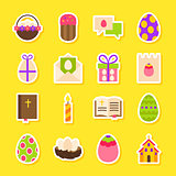 Happy Easter Holiday Stickers