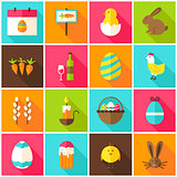 Spring Easter Colorful Icons