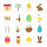 Spring Easter Objects