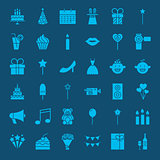 Party Glyphs Website Icons