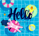 Poster hello summer