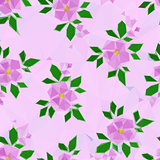 Low Poly Floral Background