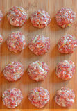Raw Uncooked Meatballs