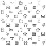 home and furniture pattern