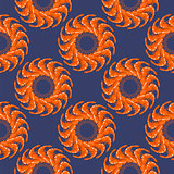 Cooked Red Shrimps Seamless Pattern