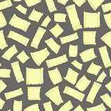 Set of Old Papers Seamless Pattern