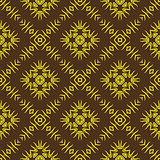 Decorative Retro Seamless Pattern.