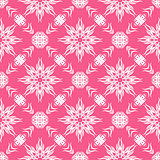Decorative Retro Pink Seamless Pattern