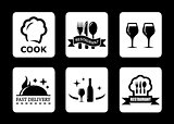 restaurant icon for menu