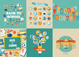 Vector illustration concepts of education.