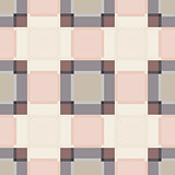 Square abstract plaid vintage seamless pattern.