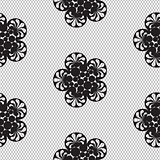 Flower lace seamless pattern net.