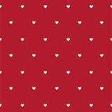 Valentine`s Day card, hearts background