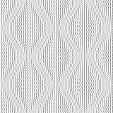 Seamless lines pattern. 3D illusion.