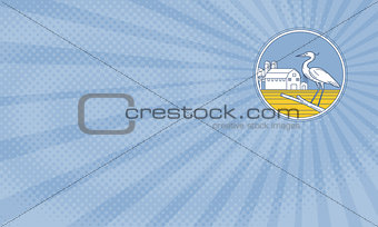 Blue Heron Farms Business card