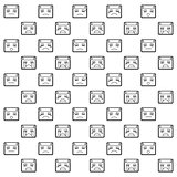 Emoticon Pattern B