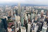 Kuala Lumpur Cityscape Aerial View