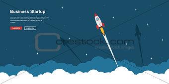 business startup banner