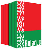 Set of books about Belarus