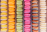 Group of colorful cookies.