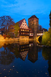 Old town of Nuremberg, Germany
