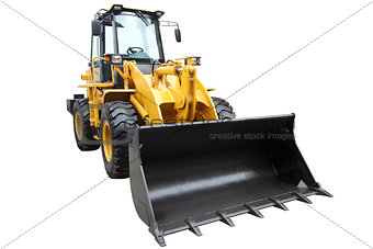 Modern tractor.