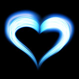Creative shiny heart shape