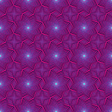 Seamless pattern with rotating octagonal stars