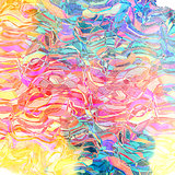 Abstract bright colorful elements