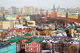 Photo retro Moscow Kremlin