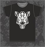 Boar on T-shirt