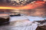Maroubra cascades Australia scenic sunrise