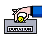 Give Donation concept