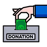 giving donation concept