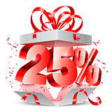 Twenty Five Percent Discount Gift