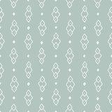 Seamless hand drawn geometric tribal pattern. Vector navajo design.