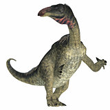 Lurdusaurus Dinosaur on White