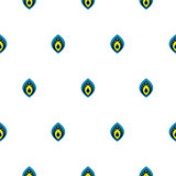 Small drops on white seamless vector pattern.