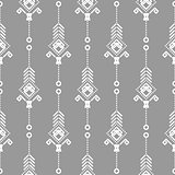 Bohemian seamless vector pattern.