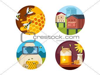 Apiary set icons