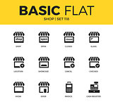 Basic set of Shop icons