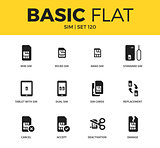 Basic set of SIM icons