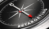 Behavioral Retargeting or Remarketing Concept