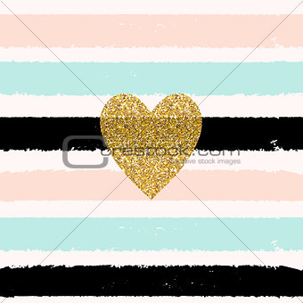 Paint Glittering Textured Art  Seamless Pattern Background. Vect